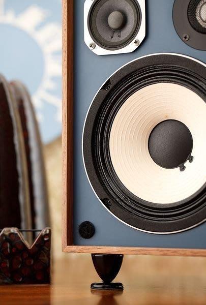 【擎上閣】中型喇叭用陶瓷角錐調音器一組(12件組)(Dynaudio JBL Proac BOSE Focal等書架喇叭適用)