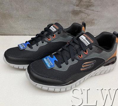 『 SLW 』232046BKCC 男 SKECHERS OVERHAUL 網布 透氣 休閒鞋 黑咖啡色