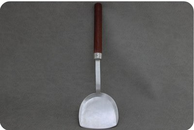 彤辰精選 防燙手柄純銀999鍋鏟湯勺勺炒菜鏟子廚具足銀廚房一張打家用炒勺