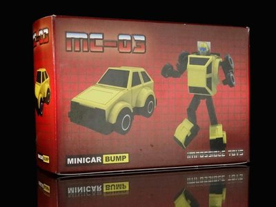 B-3 櫃 : IMPOSSIBLE TOYS 變形金剛 MC-03 BUMP 天富玩具店