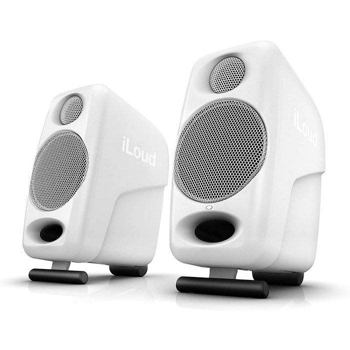 ☆唐尼樂器︵☆免運公司貨 IK iLoud Micro Monitor 白色特別版 便攜式 藍芽 監聽喇叭