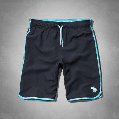 【A&F男生館】☆【100%真品Abercrombie&Fitch運動海灘褲】
