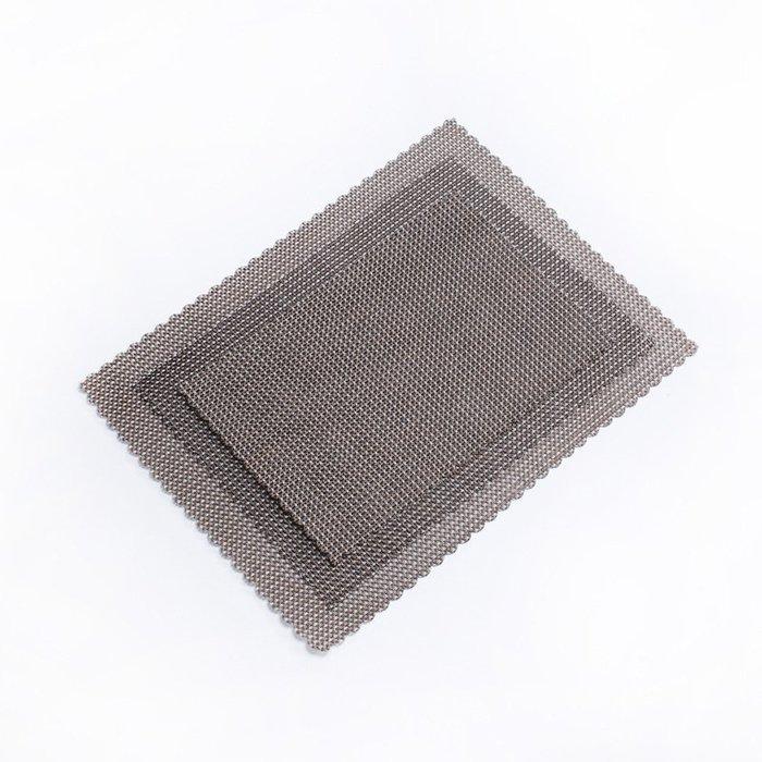 極有家 優質PVC塑料花邊茶席 纖維茶鋪 隔熱墊防刮防滑墊茶盤墊茶具配件 CJ-23