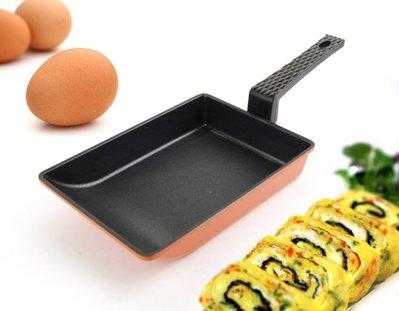 *LUCY 日韓生活館*韓國Kitchen Art 時尚鈦石玉子燒煎蛋鍋 18cm 煎蛋捲鍋露營