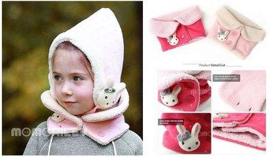 『※妳好,可愛※』韓國童鞋 韓國 winghouse  甜美小兔款 寶寶兒童 脖圍 圍脖 脖套 圍巾(2色)