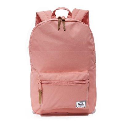 Herschel Settlement 中型 粉紅 草莓冰 塑膠拉鍊 筆電夾層 女生 後背包 [現貨]