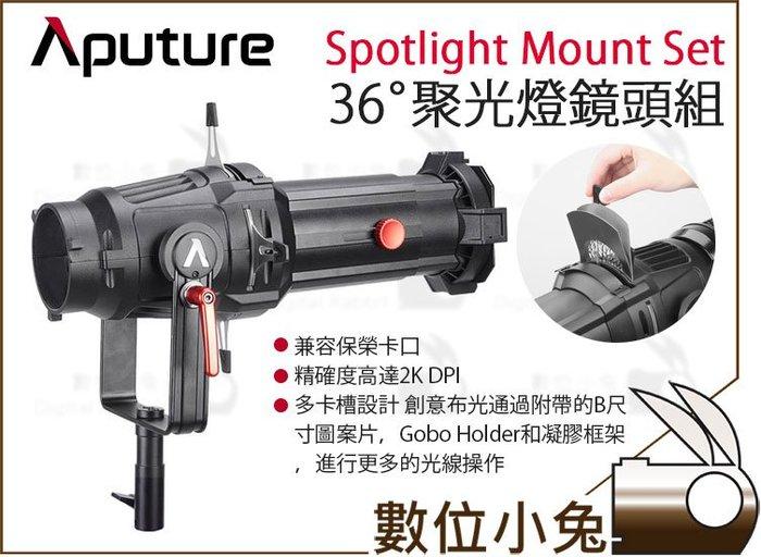 數位小兔【Aputure 36° Spotlight Mount Set 聚光燈鏡頭組 愛圖仕】公司貨 聚光燈 36度