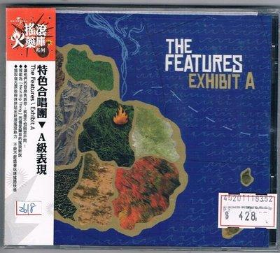 [鑫隆音樂]西洋CD-特色合唱團Features:A級表現Exhibit A[602498631287]全新/免競標