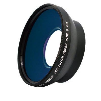 怪機絲 樂華 單眼專用廣角鏡頭 0.43x 外口徑82mm