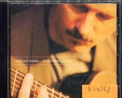 *真音樂* MICHAEL FRANK / ABANDONED GARDEN 二手 K24368