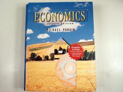 【考試院二手書】《ECONOMICS-MICHAEL PARKIN》│Addison-wesley Publishing Company│八成新(22Z21)