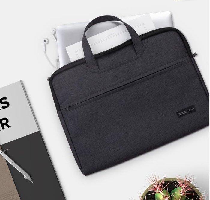 公事包 文件袋帆布手提包防水加厚拉鍊檔案資料袋男士商務辦公包多功能公文包