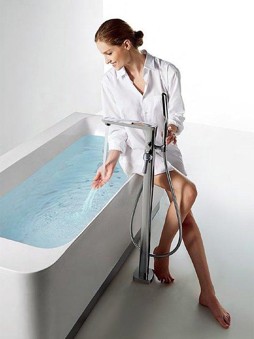 《101衛浴精品》BETTOR 現代MODERN 獨立式 浴缸龍頭 FH 8186-D80 歐洲頂級陶瓷閥芯【免運費】