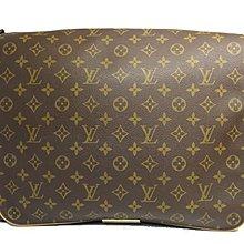 專櫃真品LV Louis Vuitton 經典M45257 原花 全蓋斜背包 王建民包 書包 郵差包 附原廠防塵袋