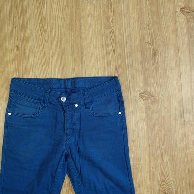 【candy二手小舖】Humor 深藍戶外休閒短褲 潮牌短褲 31腰
