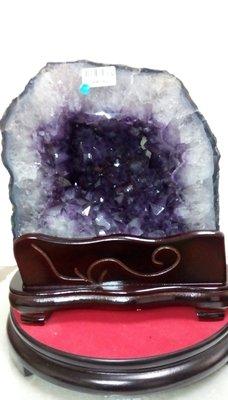 【語暘水晶】06 天然頂級巴西紫水晶洞 開運 招財 消磁 聚財聚氣擋煞