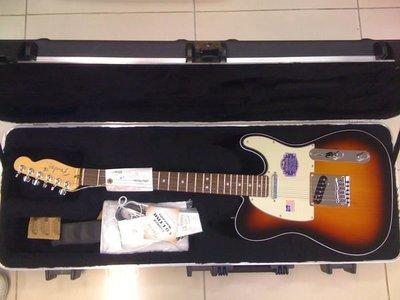 【金聲樂器】全新美廠 Fender American Deluxe Telecaster 附原廠琴箱
