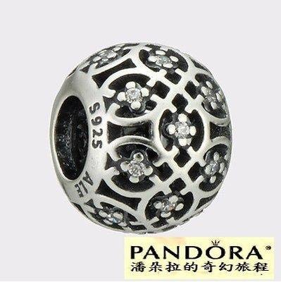 潘朵拉我最便宜 {{潘朵拉的奇幻旅程}} PANDORA Intricate lattice - 791295CZ
