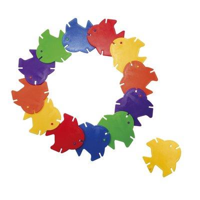 【晴晴百寶盒】台灣品牌 小片魚 WISDOM 益智遊戲 教具益智遊戲 環保無毒玩具 檢驗合格W915