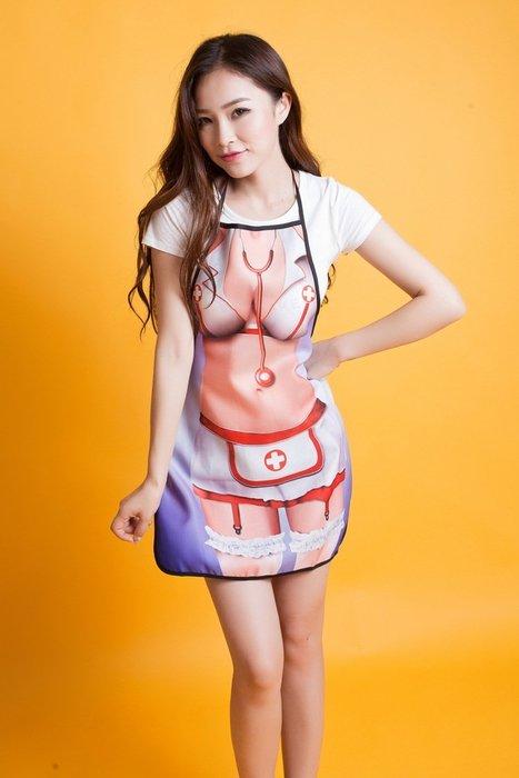 護士圍裙性感爆乳圍裙
