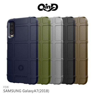 --庫米--QinD SAMSUNG A9(2018) /A7(2018) 戰術護盾保護套 防摔殼 TPU套 保護殼