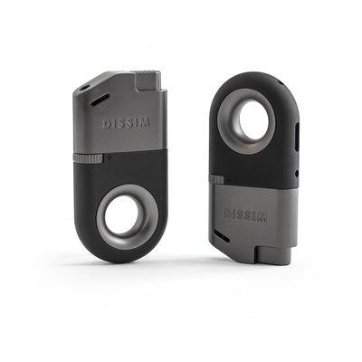 DISSIM Inverted Lighter 世界首款翻轉打火機 反向 防風  可填充