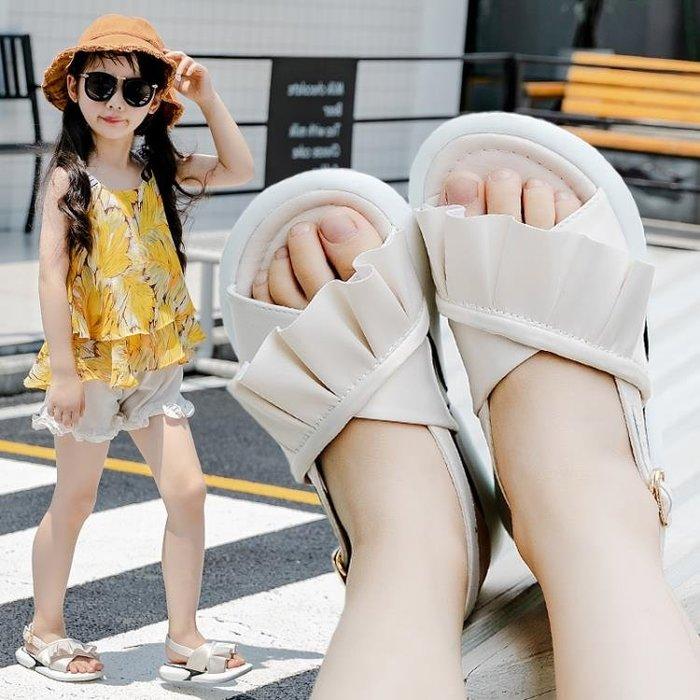 女童涼鞋2018新款韓版夏季時尚中大童兒童鞋寶寶軟底小女孩公主鞋