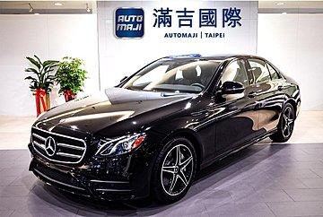 【滿吉國際】 Benz E300 AMG 全景天窗 盲點 夜色套件 (謝謝)