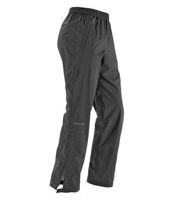 【Marmot】41240-0001 黑色 美國 男 PreCip 土撥鼠 防水雨褲 類GORE-TEX