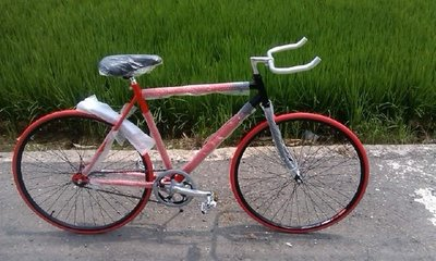 戴英俊-東東事務所-【練習車-場地車- 特技車-單速車】37系列後踩剎車腳踏車