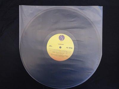 【柯南唱片】12吋 黑膠唱片保護塑膠內套 // 抗靜電半圓內套 (100張/包)