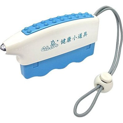 *美生藥粧*三合一迷你握力器-藍色(附吊掛繩)