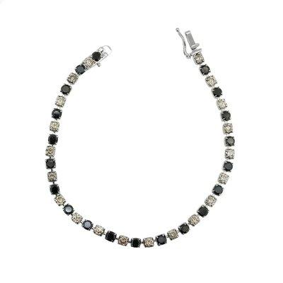 【JHT金宏總珠寶/GIA鑽石專賣】5.50ct天然鑽石手鍊/材質:18K(JB43-A37)