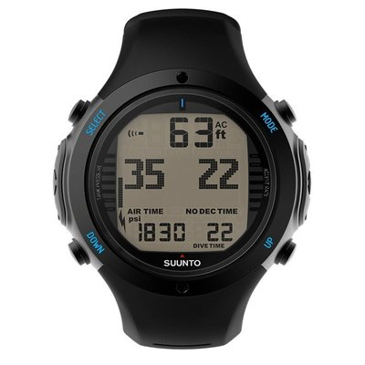 SUUNTO D6i 全黑錶帶 潛水電腦錶 公司貨~新NOVO錶帶~新色系