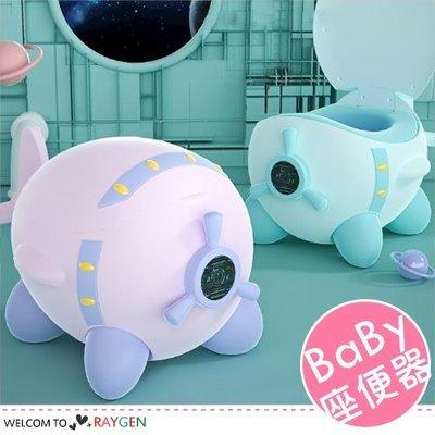 八號倉庫 小飛機造型寶寶坐便器 訓練器 便盆 尿桶【3F170M626】