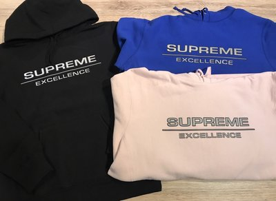 【MASS】SUPREME REFLECTIVE EXCELLENCE SWEATSHIRT 3M  帽TEE 黑/藍