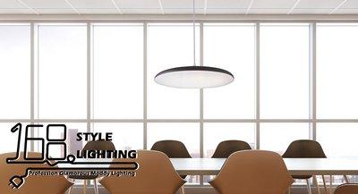 【168 Lighting】極簡居家《LED吊燈》(兩款)黑款AX 81244-2