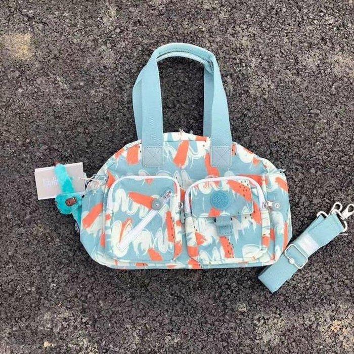 凱莉代購 kipling k13636經典款手提斜挎單肩包 媽咪包 新色預購