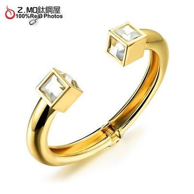 銅鍍金手鐲 精緻耀眼手環 派對飾品配件 韓版時尚手環 單件價【CKG500】Z.MO鈦鋼屋