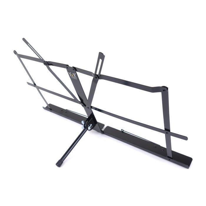 【六絃樂器】全新台灣製 YHY MS-140D 桌上型小譜架 附外出提袋 / 現貨特價
