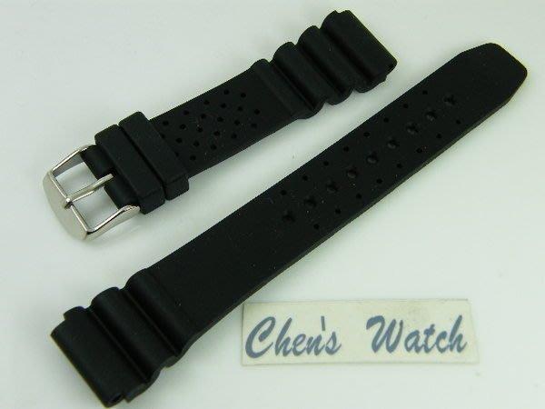 錶帶屋 18mm  橡膠運動錶帶 替代SEIKO CITIZEN EPOS 現貨商品