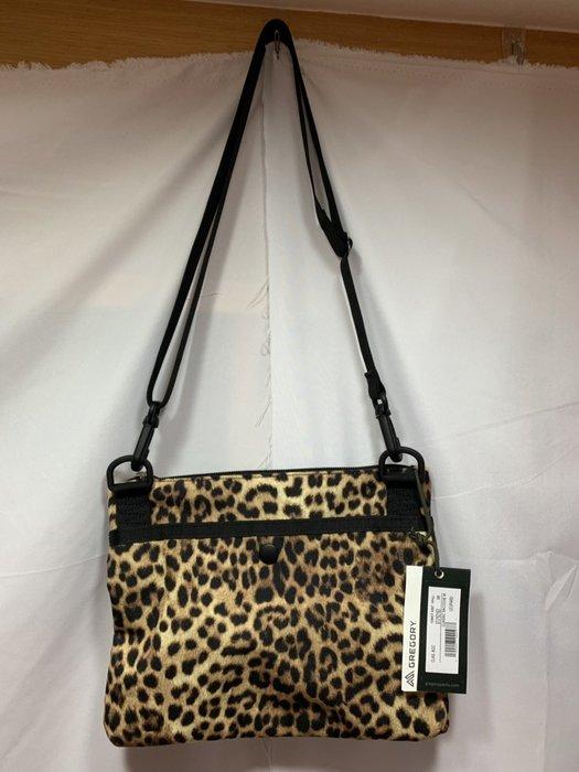 [黃 O BA] GREGORY 豹紋 側背包 方包  拉鍊包 日本購買