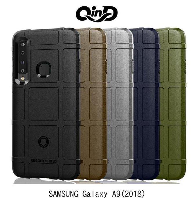 *phone寶*QinD SAMSUNG A9(2018) /A7(2018) 戰術護盾保護套 防摔殼 TPU套 保護殼