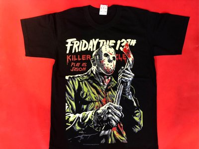【小間搖滾】 十三號星期五 Friday the 13th 13號星期五☆進口Rock搖滾ㄒ恤 (S M L XL)
