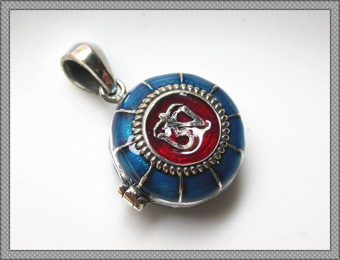 【雅之賞|藏傳|佛教文物】*特賣* 復古泰銀 925純銀嘎嗚~Q1454