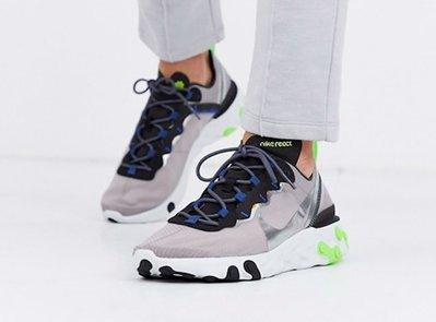 [Butler]優惠代購 Nike React Element 55 灰綠 CI3831-200