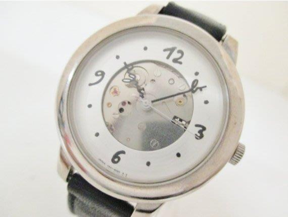 100%真品 agnes b. 機械錶  美~美~美~