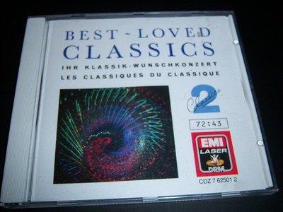 CD-BEST-LOVED CLASSICS 2/EMI荷蘭版,片如新 新北市