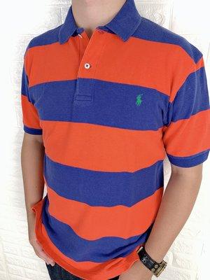 Look 鹿客 POLO Ralph Lauren 男款 小馬系列條紋POLO衫