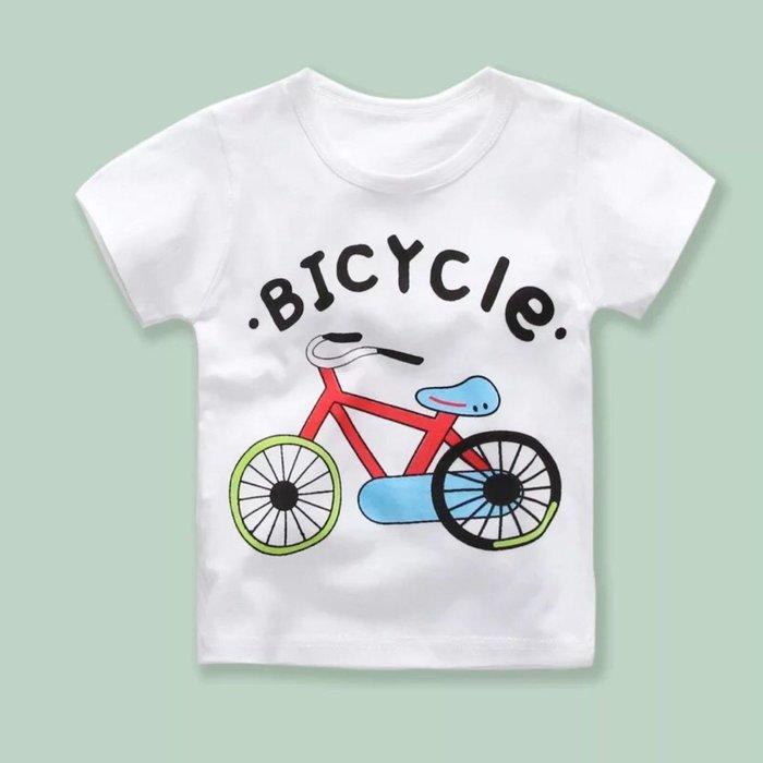 ✿荳荳小舖✿ 現貨⚽ 純棉 腳踏車款短袖T恤